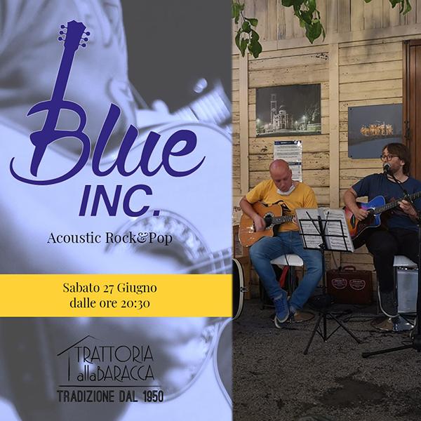 Blue Inc. live alla Baracca